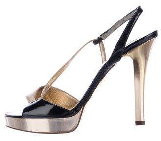 MICHAEL Michael KorsMichael Kors Metallic Slingback Sandals