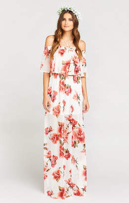 Show Me Your Mumu Hacienda Maxi Dress ~ Romuntic Rose
