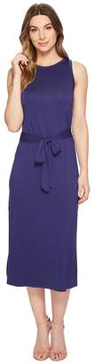 Three Dots Refined Jersey Easy Midi Dress Women's Dress