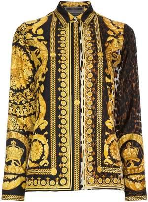 Versace Barocco FW 91 Silk Shirt