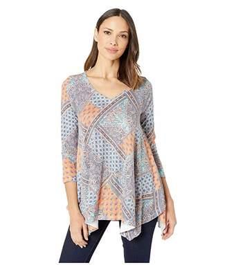 Nally & Millie Scarf Print Tunic