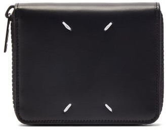 Maison Margiela Leather Wallet - Mens - Black