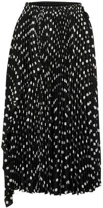 Marc Jacobs Polka Dots pleated skirt