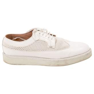 Paul Smith White Leather Lace ups