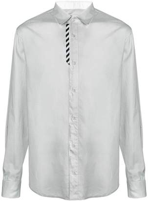 Off-White stripe panel shirt