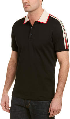 Gucci Stripe Cotton Polo Shirt