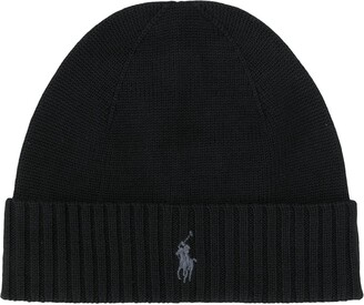 Polo Ralph Lauren logo embroidered beanie