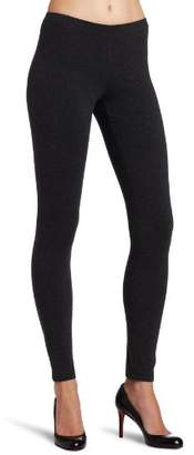 Hue Women's Temp Control Cotton Leggings Gray L