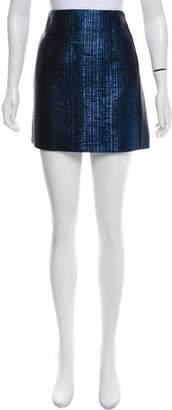 Thierry Mugler Metallic Mini Skirt