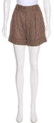 Missoni Lace Mini Shorts
