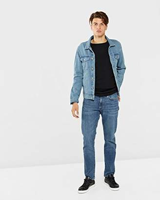 Gant Men's Slim Jean (Mid Worn-in Blue), /32L