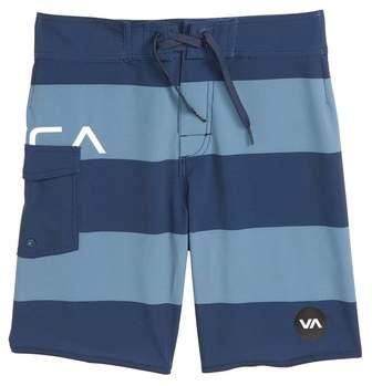 Uncivil Stripe Board Shorts