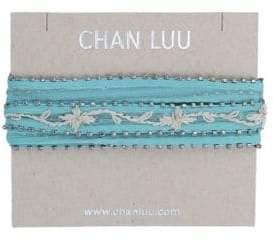 Chan Luu Chiffon Fabric Necktie