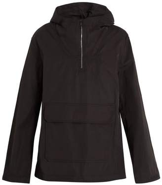 A.P.C. Duty Shell Hooded Jacket - Mens - Black