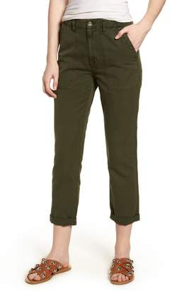 AG Jeans The Wes Utilitarian Relaxed Straight Pants