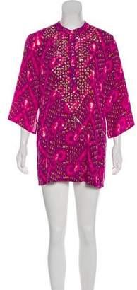 Figue Printed Silk Tunic