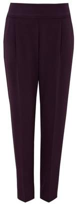 Wallis Berry Satin Tapered Trouser
