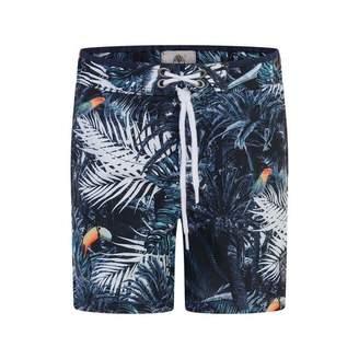 Timberland TimberlandBoys Tropical Print Swim Shorts