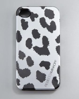 Rebecca Minkoff Cheetah-Print iPhone Case