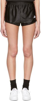 Gosha Rubchinskiy Black Kappa Edition Sport Shorts $60 thestylecure.com