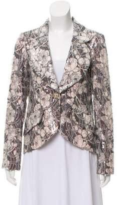 Chanel Iridescent Printed Blazer