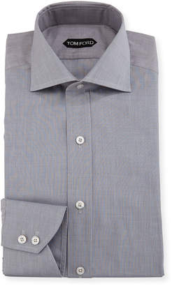 Tom Ford End-on-End Cotton Dress Shirt
