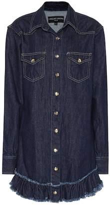 Caroline Constas Denim shirt dress