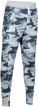 Under Armour Boy's Rival Printed Cotton Blend Fleece Jogger Pants
