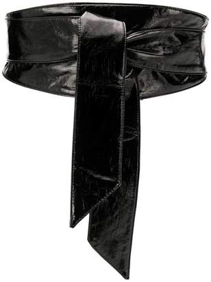 Federica Tosi faux leather wrap belt