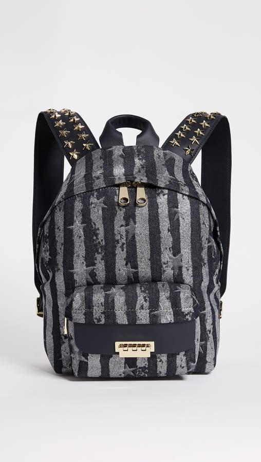 ZAC Zac Posen Star Stud Eartha Small Backpack