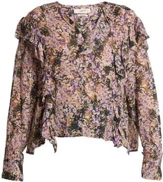 Etoile Isabel Marant Jelby floral-print chiffon blouse
