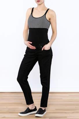 Lilac Maternity Black Skinny Jean