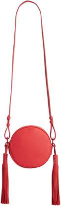 AllSaints Kepi Circle Leather Crossbody Bag