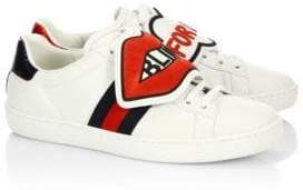 Gucci New Ace Blind For Love Sneakers