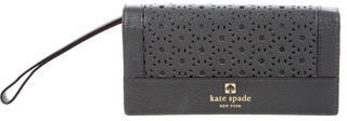 Kate SpadeKate Spade New York Laser Cut Leather Wristlet