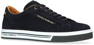 Dolce & Gabbana Suede Roma Sneakers