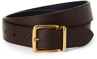 Mulberry Chocolate & Navy Reversible Belt