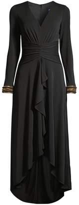 Shoshanna Luella Jersey High-Low Dress