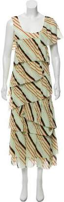 Sonia Rykiel Striped Maxi Dress