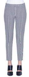Akris Punto Frankie Soundboard Pattern Pants