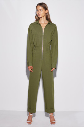 C/Meo Collective CLEAN SLATE JUMPSUIT moss