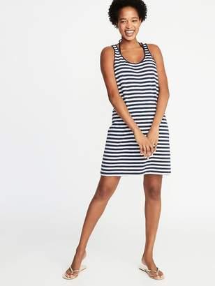 Old Navy Slub-Knit Twist-Back Swim Cover-Up Dress for Women
