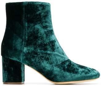 Twin-Set block heel ankle boots