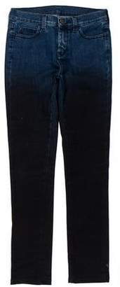 Maison Margiela x Opening Ceremony Ombré Mid-Rise Skinny Jeans