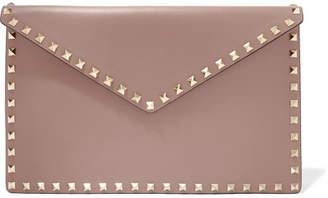 Valentino Garavani The Rockstud Leather Pouch - Pink