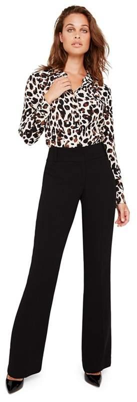 Black Amelia City Suit Trousers