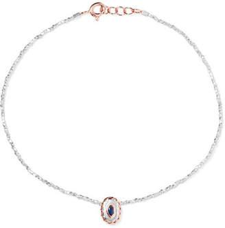 Pascale Monvoisin Montauk 9-karat Rose Gold Multi-stone Anklet