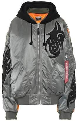x Alpha Industries hooded jacket