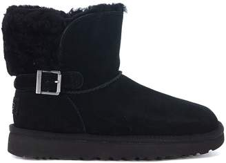 UGG Karel Suede Ankle Boots With Buckle