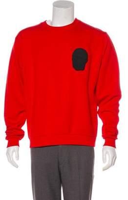 Christopher Kane Graphic Crew Neck Sweatshirt